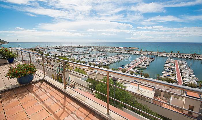 terrazayvistas3 - Elegancia, espacio y luz en una fantástica casa en Port d'Aiguadolç, Sitges (Barcelona)