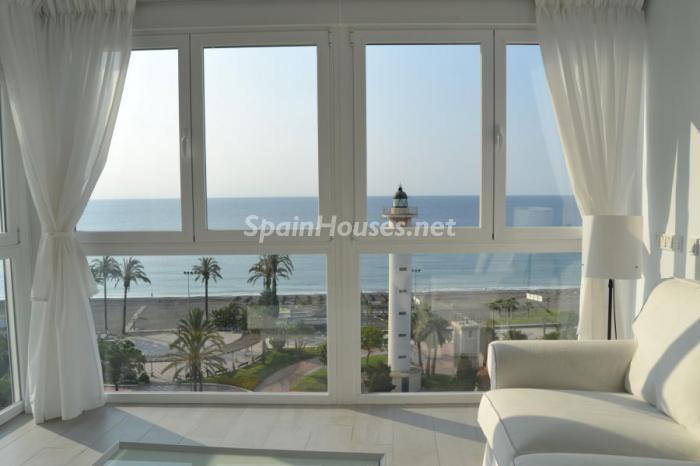torredelmar malaga 2 - 15 pisos en alquiler con una decoración moderna y urbana o muy cerquita de la playa