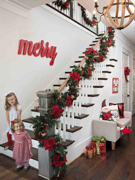 tradicional 450x600 - Ideas para decorar recibidores en Navidad