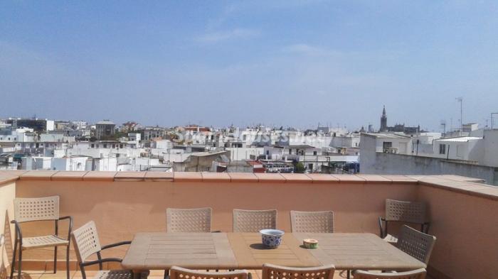 triana sevilla - Áticos: espectaculares terrazas con un bonito toque urbano o fantásticas vistas al mar