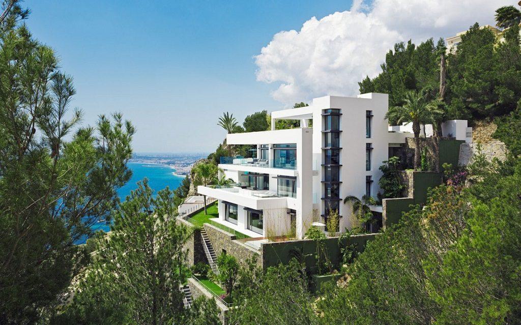 urbanizacion vistas 1 1024x639 - Altea Hills: Villas de diseño mediterráneo con vistas al mar en Costa Blanca (Alicante)