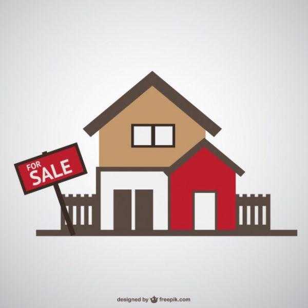 vector de casa en venta 23 2147497587 600x600 - Documentos necesarios en la venta de una casa