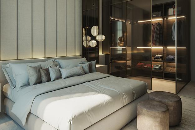 vestidor cristal - Ideas para hacer un vestidor en casa aprovechando cualquier hueco