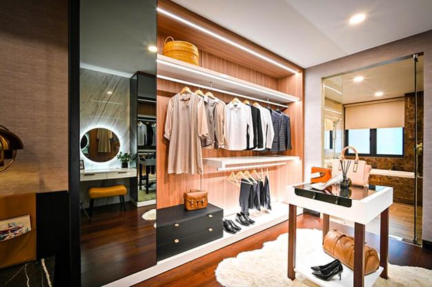vestidor lujo - Ideas para hacer un vestidor en casa aprovechando cualquier hueco