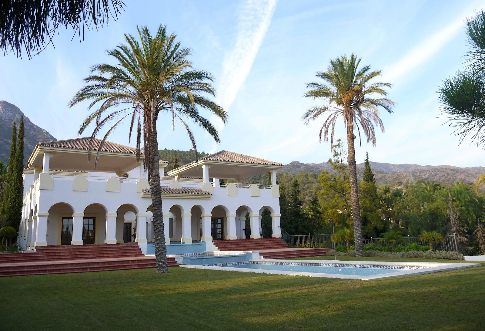 Una casa con arte en marbella noticias - Casas de lujo en marbella ...