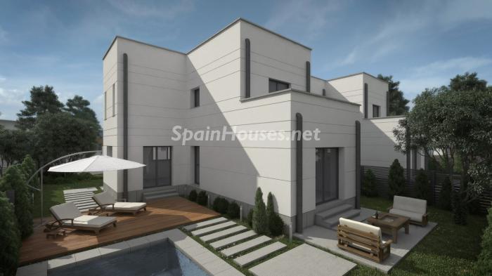 villalbilla madrid - Arquitectura contemporánea: 16 fantásticas casas de diseño moderno para estrenar