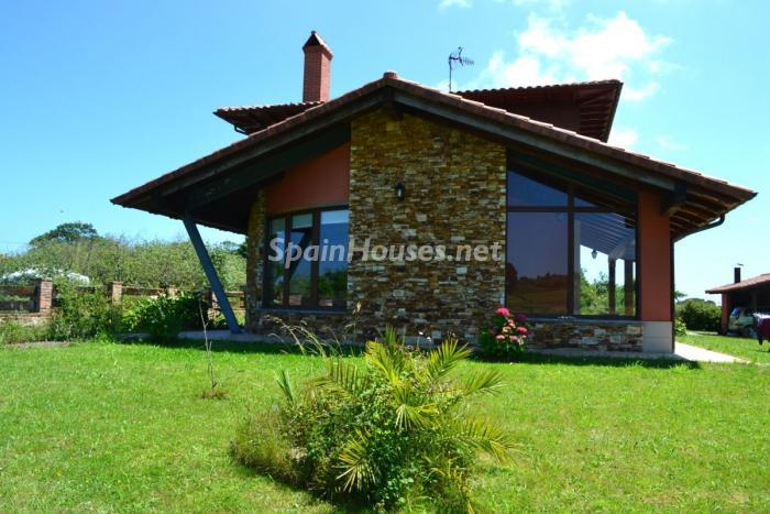villaviciosa asturias - 22 fantásticas casas de piedra, masías catalanas y villas mallorquinas para enamorar