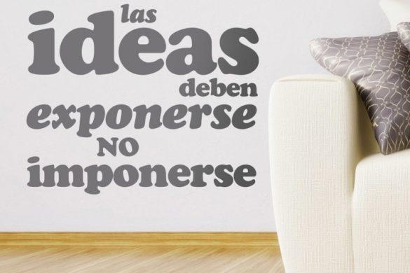 vinilo decorativo exponer ideas 4474 585x390 - Decoración: Ideas para decorar con vinilos