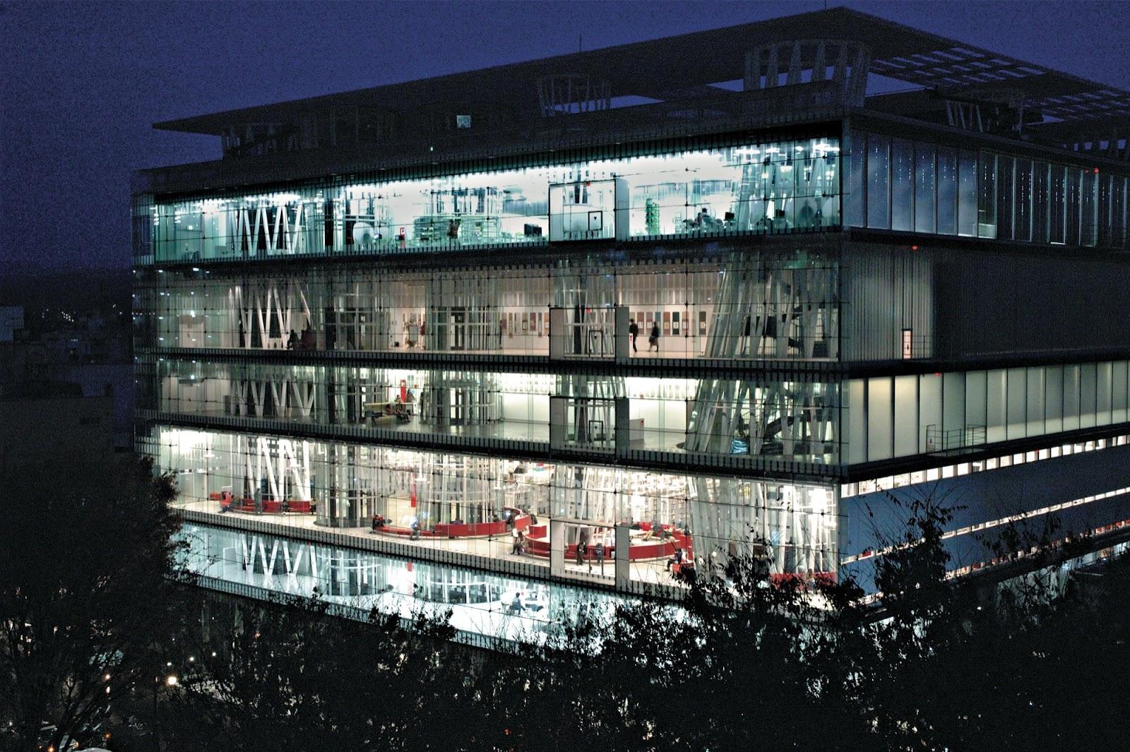 vista edificio - Toyo Ito ganador del premio Pritzker, un gran arquitecto
