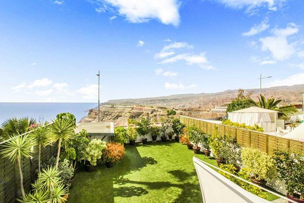 vistas las palmas - Excepcional villa con terrazas en Las Palmas: increíbles vistas al mar hasta el Teide