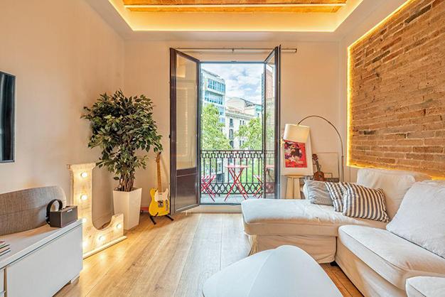 vistas piso centro barcelona - Piso en el centro histórico de Barcelona: diseño y lujo para disfrutar de la Ciutat Vella