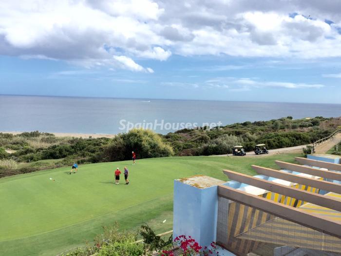 vistasgolfymar - Chalet en alquiler en primera línea de golf y mar en Alcaidesa (Costa de la Luz, Cádiz)